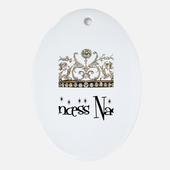 Princess Nadia Oval Ornament