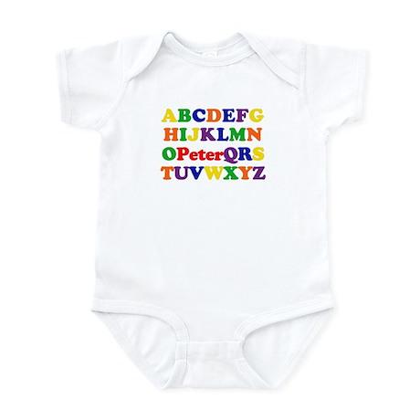 Peter - Alphabet Infant Bodysuit