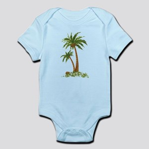 Twin Palm Tree Body Suit