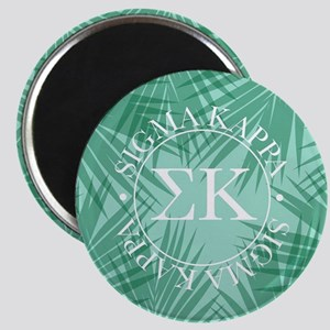 Sigma Kappa Leaves Magnet