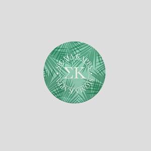 Sigma Kappa Leaves Mini Button