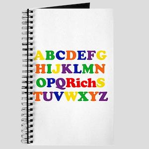 Rich - Alphabet Journal
