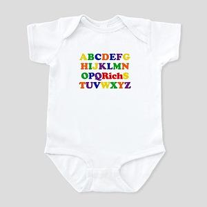 Rich - Alphabet Infant Bodysuit