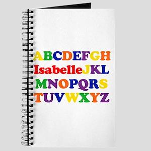 Isabelle - Alphabet Journal