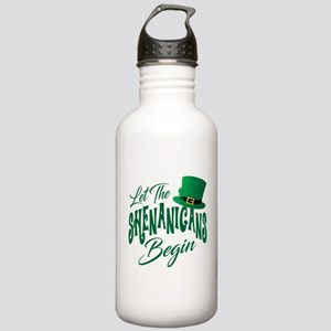 Let the Shenanigans Be Stainless Water Bottle 1.0L