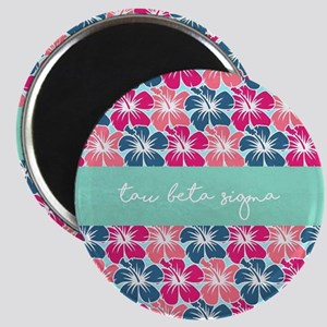 Tau Beta Sigma Floral Magnet