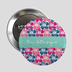 "Tau Beta Sigma Floral 2.25"" Button (10 pack)"