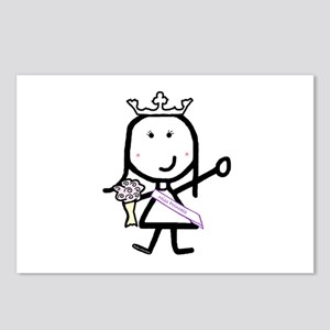 Girl & Pageant Postcards (Package of 8)
