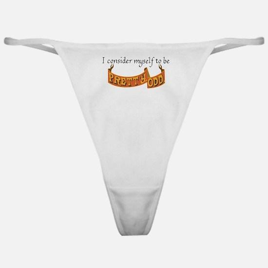 Unique Odd Classic Thong