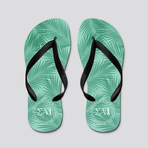 Sigma Alpha Iota Leaves Flip Flops