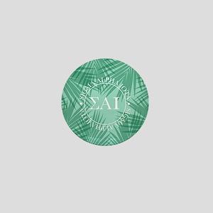 Sigma Alpha Iota Leaves Mini Button