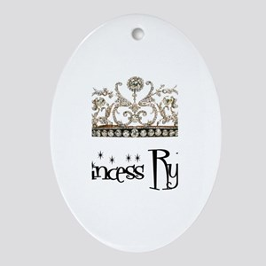 Princess Rylee Oval Ornament