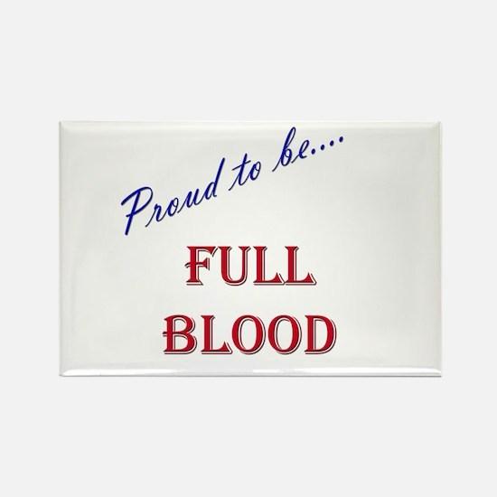 Full Blood Rectangle Magnet