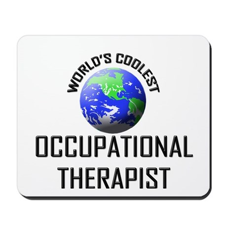 World's Coolest OCCUPATIONAL THERAPIST Mousepad