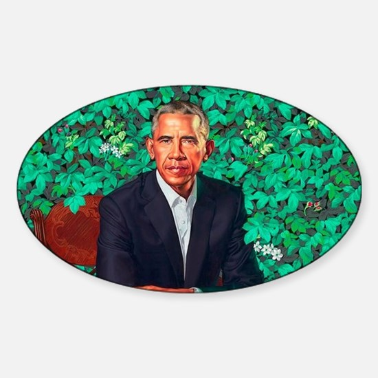 President Obama in a Garden Decal