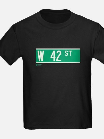 42nd Street in NY T