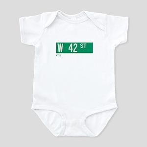42nd Street in NY Infant Bodysuit