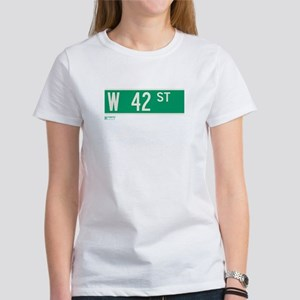 42nd Street in NY Women's T-Shirt