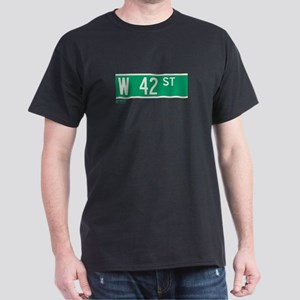 42nd Street in NY Dark T-Shirt