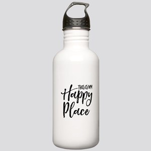 This is my happy place Stainless Water Bottle 1.0L