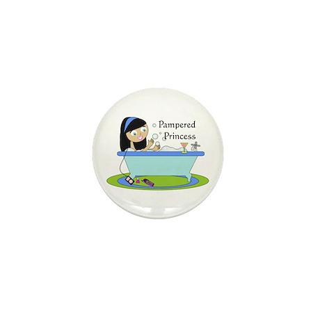 Pampered Princess Mini Button
