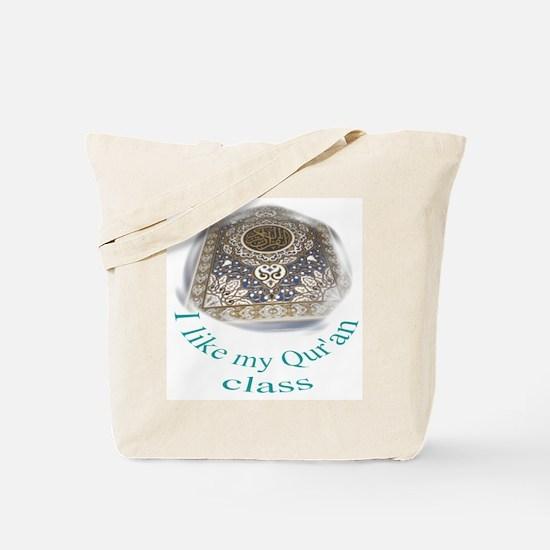 Quran Studies Tote Bag