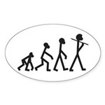 Evolution of Stickman Sticker