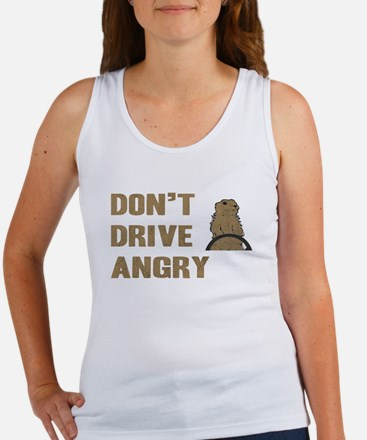 Don't Drive Angry Women's Tank Top