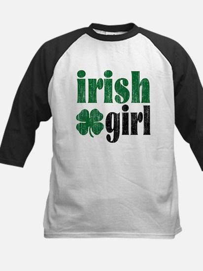 Irish Girl Kids Baseball Jersey