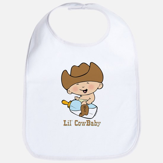 Lil' Cowbaby Boy Bib