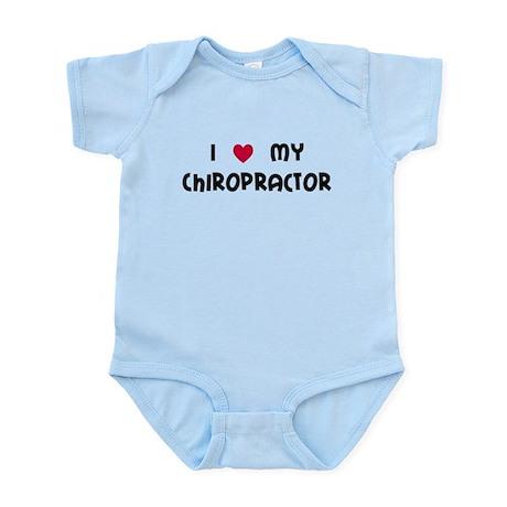 I Love My Chiro Infant Bodysuit