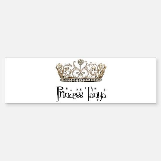 Princess Tanya Bumper Bumper Bumper Sticker