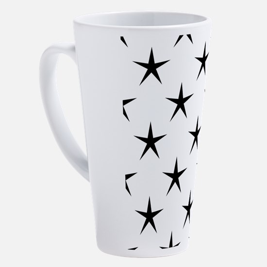 Cute Stars 17 oz Latte Mug