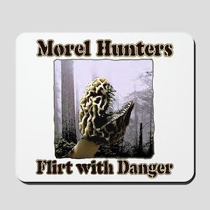 Morel hunters flirt with danger Mousepad