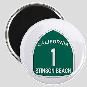 Stinson Beach, California Hig Magnet
