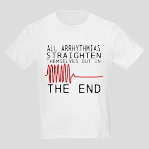 Arrhythmias Kids Light T-Shirt