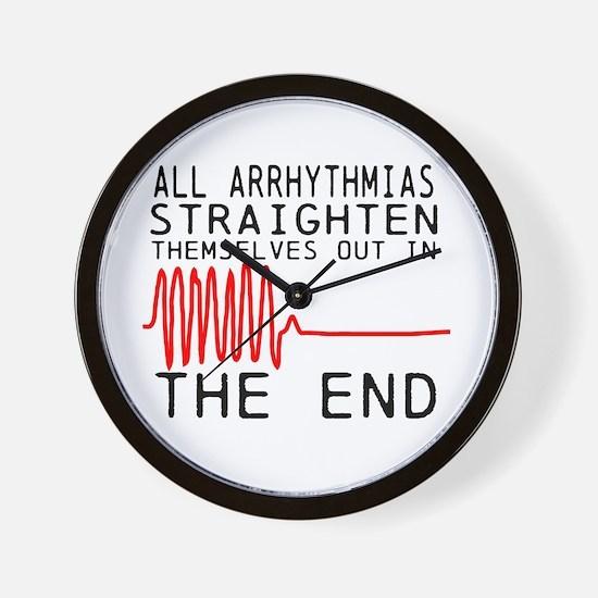 Arrhythmias Wall Clock