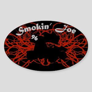 Smokin' Joe Oval Sticker