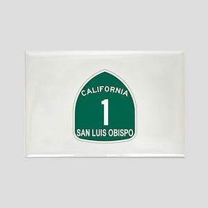 San Luis Obispo, California H Rectangle Magnet