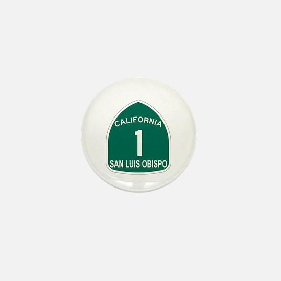 San Luis Obispo, California H Mini Button