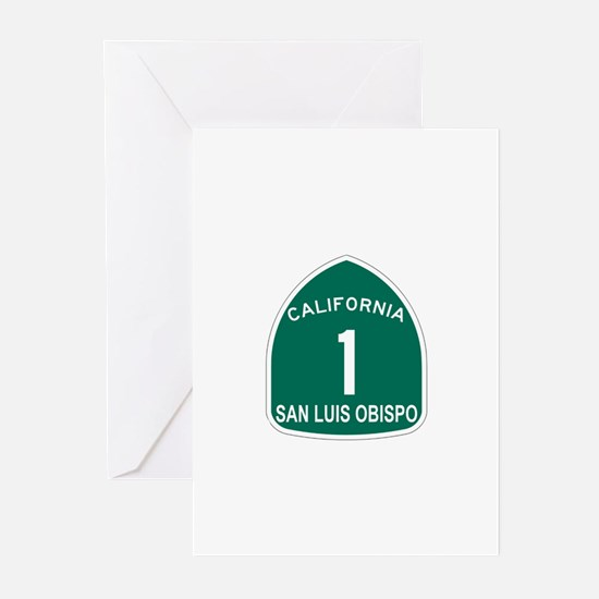 San Luis Obispo, California H Greeting Cards (Pk o