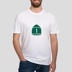 San Luis Obispo, California H Fitted T-Shirt