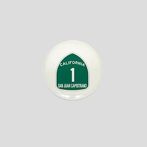 San Juan Capistrano, Californ Mini Button