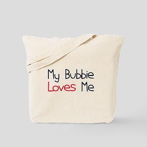 My Bubbie Loves Me Tote Bag