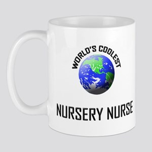 World's Coolest NURSERY NURSE Mug