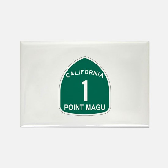 Point Magu, California Highwa Rectangle Magnet