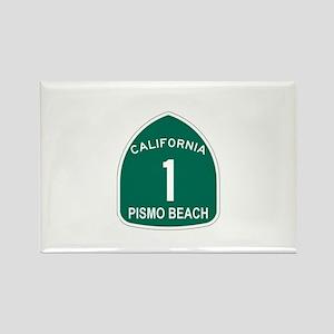 Pismo Beach, California Highw Rectangle Magnet