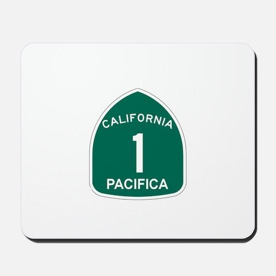 Pacifica, California Highway Mousepad