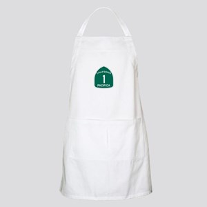 Pacifica, California Highway BBQ Apron