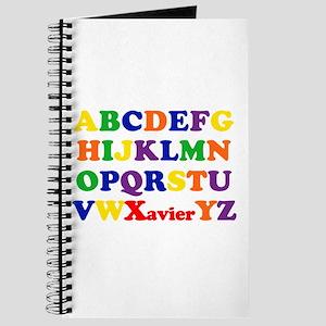 Xavier - Alphabet Journal
